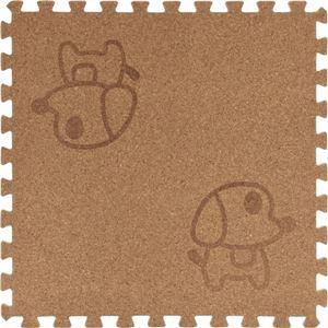 コルクマット(犬柄) 【30cm 9枚組】 厚さ8mm [防音/寒さ対策/汚れ/ケガ防止]の詳細を見る