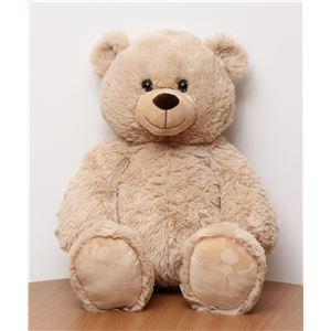子供用 ぬいぐるみ/人形 【熊型 ベージュ】 幅30cm 〔おもちゃ 子ども部屋〕