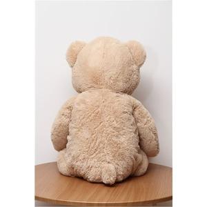 子供用 ぬいぐるみ/人形 【熊型 ベージュ】 幅50cm 〔おもちゃ 子ども部屋〕