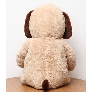 子供用 ぬいぐるみ/人形 【犬型 ベージュ】 幅45cm 〔おもちゃ 子ども部屋〕