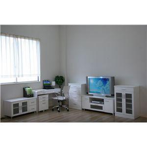 ノアーレ キャビネット NL-6090KA ホワイト