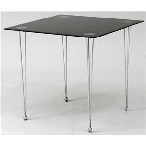 ガラスセンターテーブル BK ブラック