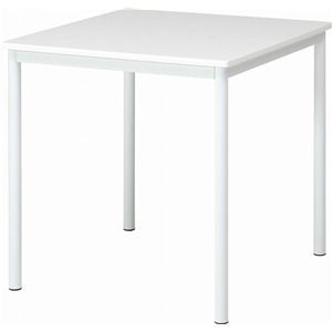 ダイニングテーブル シュクル W75 ホワイト