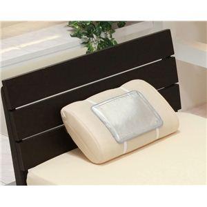 日本製 低反発冷却ジェルパッド エバークール 枕 (約22.5×30cm) - 拡大画像