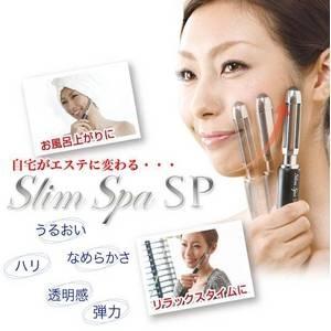 タッピング美顔ローラー Slim Spa(スリムスパ)SP&フェイシャルミストセット - 拡大画像
