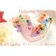【Rosybear】スワロフスキー社クリスタル魅惑の香水ストラップ(マーメイドブルー) 写真2