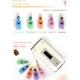 【Rosybear】スワロフスキー社クリスタル魅惑の香水ストラップ(マーメイドブルー) 写真3