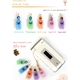 【Rosybear】スワロフスキー社クリスタル魅惑の香水ストラップ(ラブバイオレット) 写真3