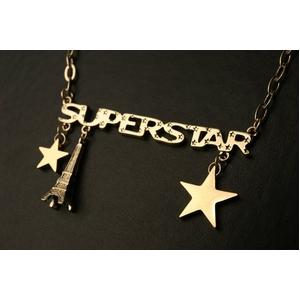 SUPERSTARゴールドネックレス    - 拡大画像