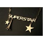 SUPERSTARゴールドネックレス