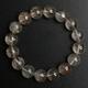 【金運】銀ルチルクォーツブレス12ミリ・ヒマラヤ水晶さざれ石付き♪ 写真3