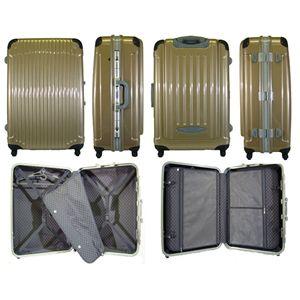 TSA搭載ハードキャリーケース 71C クリアゴールド