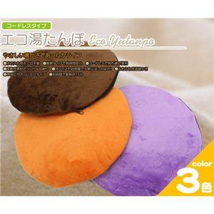 コードレスタイプ エコ湯たんぽ EY-024 オレンジ - 拡大画像
