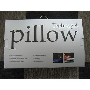 イタリア製 Technogel(テクノジェル)ピロー トラディショナルモデル(Type:14 高さ14cm) MP060140N 専用枕カバー付