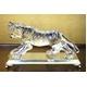 クリスタル タイガー 置物 CT004 写真1