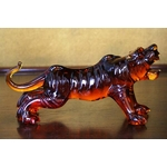 クリスタル タイガー 置物 CT003