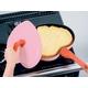 ベルフィーナ ハートパン (マーブルコーティング) ピンク 写真2