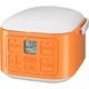 サンヨー 3合炊飯器 vita cube ECJ-XQ30 オレンジ 写真2