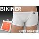 【アウトレット】 BIKINER メンズ スーパーローライズ ホワイト Lサイズ10枚セット 写真1