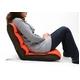 フロアチェアー ミニモコモコ座椅子 RT-21A オレンジ 写真3