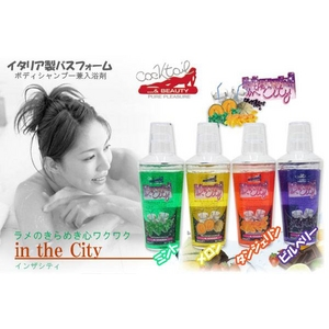 cocktail&BEAUTY イタリア製バスフォーム in the City メロンウオッカ 【3本セット】