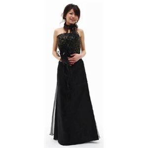 ♪ロングドレス115ABK M - 拡大画像    もしマーケット