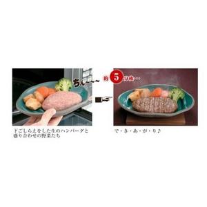 電子レンジ調理器 ふしぎなお皿(レシピ本付き) 【4枚セット】