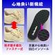 ウォーキングシューズ NEW Dr.Heelesカジュアル ブラック 22.0cm 写真4