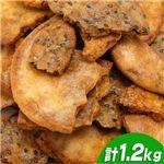 雷神堂巣鴨本店のお煎餅(せんべい) ぬれかり煎 計1.2kg