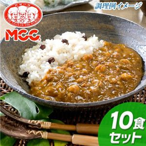 鶏ひき肉と豆の薬膳カレー 10食セット - 拡大画像