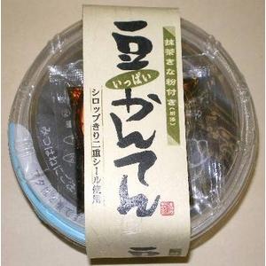 甘味処 きな粉豆かんてん 250g×12個(別添 くろみつ20g きな粉5g)