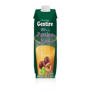 Gentire(ジェンティーレ) パッションフルーツジュース 1L×6本 - 拡大画像