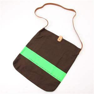MARC BY MARC JACOBS(マークバイマークジェイコブス) Neon Stripe Bag 111505・Green