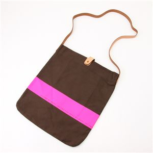 MARC BY MARC JACOBS(マークバイマークジェイコブス) Neon Stripe Bag 111504・Fuschia