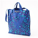 MARC BY MARC JACOBS(マークバイマークジェイコブス) ダブルハンドル トートバッグ Flower Tote Blue/Purple(117505)