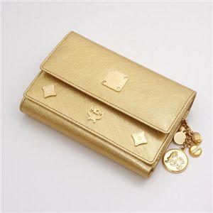 MCM(エムシーエム) 財布 1032 08503 3512・【C】Gold