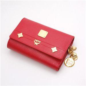 MCM(エムシーエム) 財布 1032 09513 0512・【D】Red