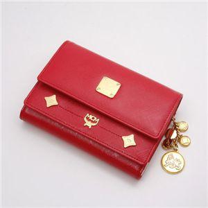 MCM(エムシーエム) 財布  1032 09514 0512・【E】Red