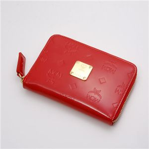 MCM(エムシーエム) 財布 1032 10002 0509・【F】Red
