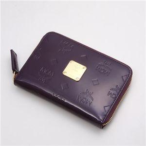 MCM(エムシーエム) 財布 1032 10002 1009・【F】Purple