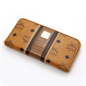 MCM(エムシーエム) 財布 1031 09601 0122・【G】Brown×D.Brown