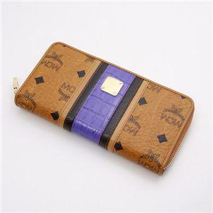 MCM(エムシーエム) 財布 1031 09601 1022・【G】Brown×Blue