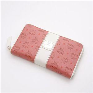 MCM(エムシーエム) 財布 1031 10011 0510・【I】Pink×White