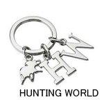 HUNTING WORLD(ハンティングワールド) KEYRING キーリング(キーホルダー)