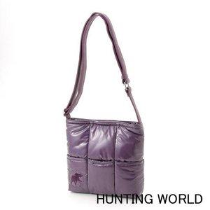 Hunting World(ハンティングワールド) キルティングショルダーバッグ 7089-(パープル) - 拡大画像