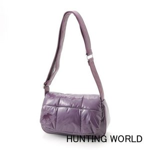 Hunting World(ハンティングワールド)/キルティングショルダーバッグ/7098-(パープル) - 拡大画像