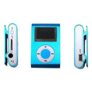 超小型MicroSD挿入型MP3プレーヤー BL(ブルー) - 拡大画像