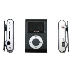 超小型MicroSD挿入型MP3プレーヤー BK(ブラック)