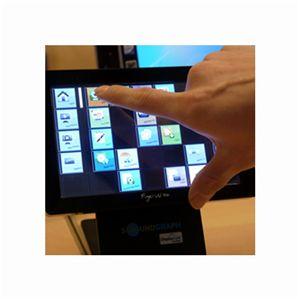【液晶タッチパネル モバイルディスプレイ】マルチメディア機能搭載タッチサブモニタ FingerVU 706 BLACK