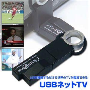 USB接続で世界のTVが鑑賞できる USBネットTV BLACK - 拡大画像